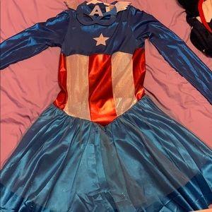 Captain America Woman Halloween Costume